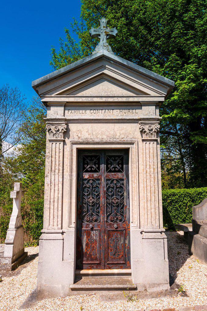 Stock Photo: 1566-1139961 ville de bonsecours, cemetery, Rouen, France, Europe
