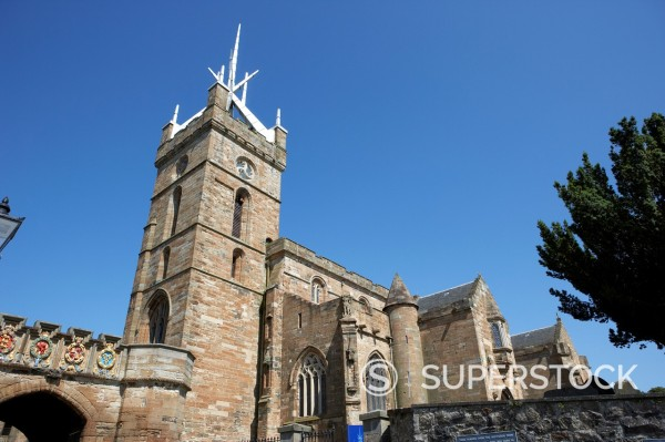 st michael´s church linlithgow west lothian scotland : Stock Photo