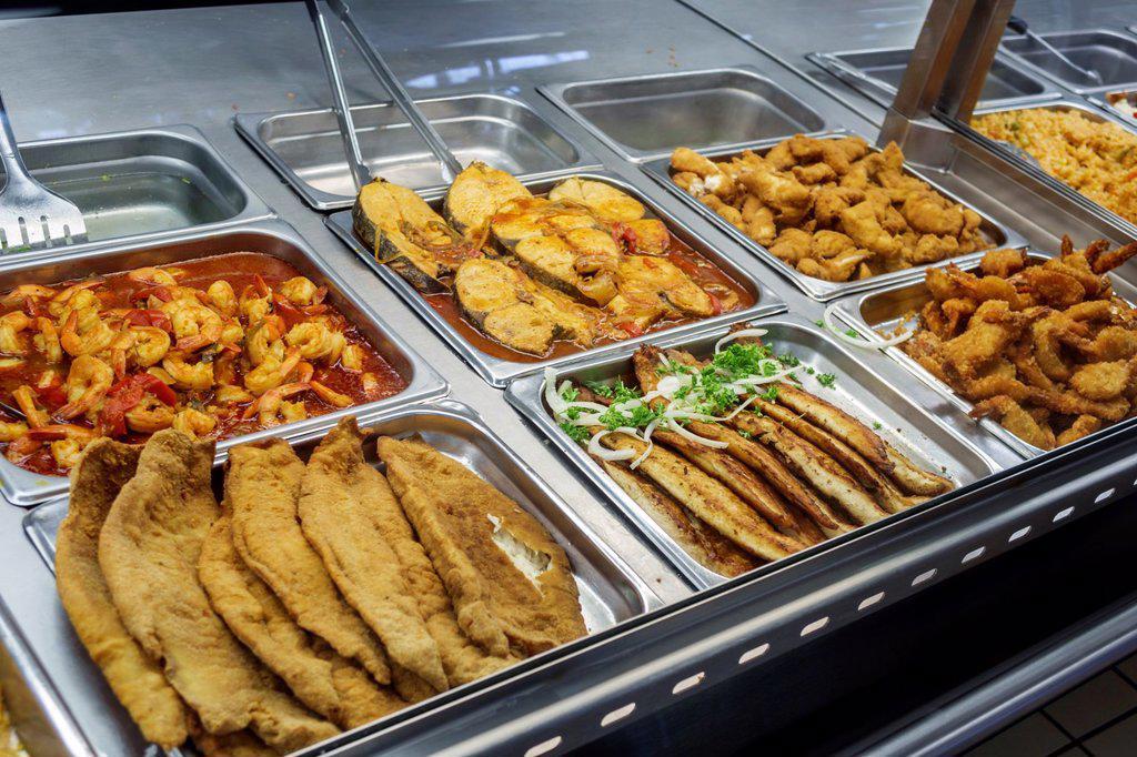florida miami tamiami trail el palacio de los jugos restaurant rh superstock com seafood buffet miami beach fl seafood buffet miami lakes