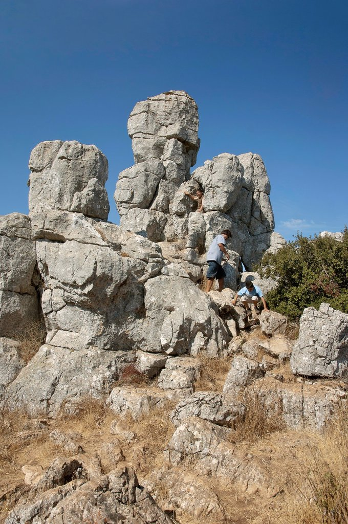 Stock Photo: 1566-1144897 Torcal de Antequera Natural Park, Antequera, Malaga-province, Spain