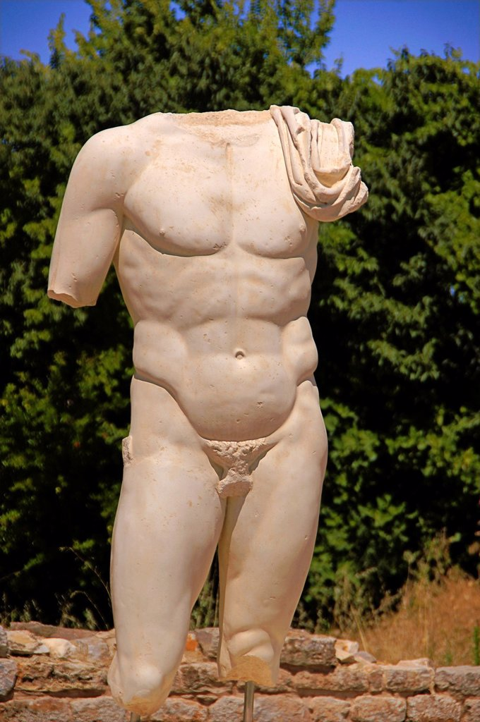 Stock Photo: 1566-1148392 Turkey- Heroic torso of a god: Hadrian´s Bath at Aphrodisias Greek: fds, Aphrodisiás was a small city in Caria, on the southwest coast of Asia Minor  Its site is located near the modern village of Geyre, Turkey, about 230 km 140 mi south-east of Izmir and. Turkey- Heroic torso of a god: Hadrian´s Bath at Aphrodisias Greek: fds, Aphrodisiás was a small city in Caria, on the southwest coast of Asia Minor  Its site is located near the modern village of Geyre, Turkey, about 230 km 140 mi south-east