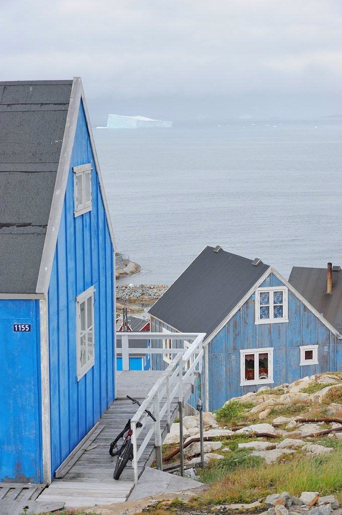 Stock Photo: 1566-1150176 Greenland, Upernavik