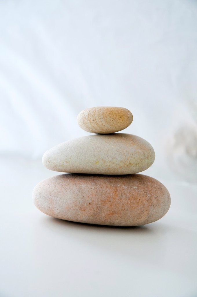 Balanced stones : Stock Photo