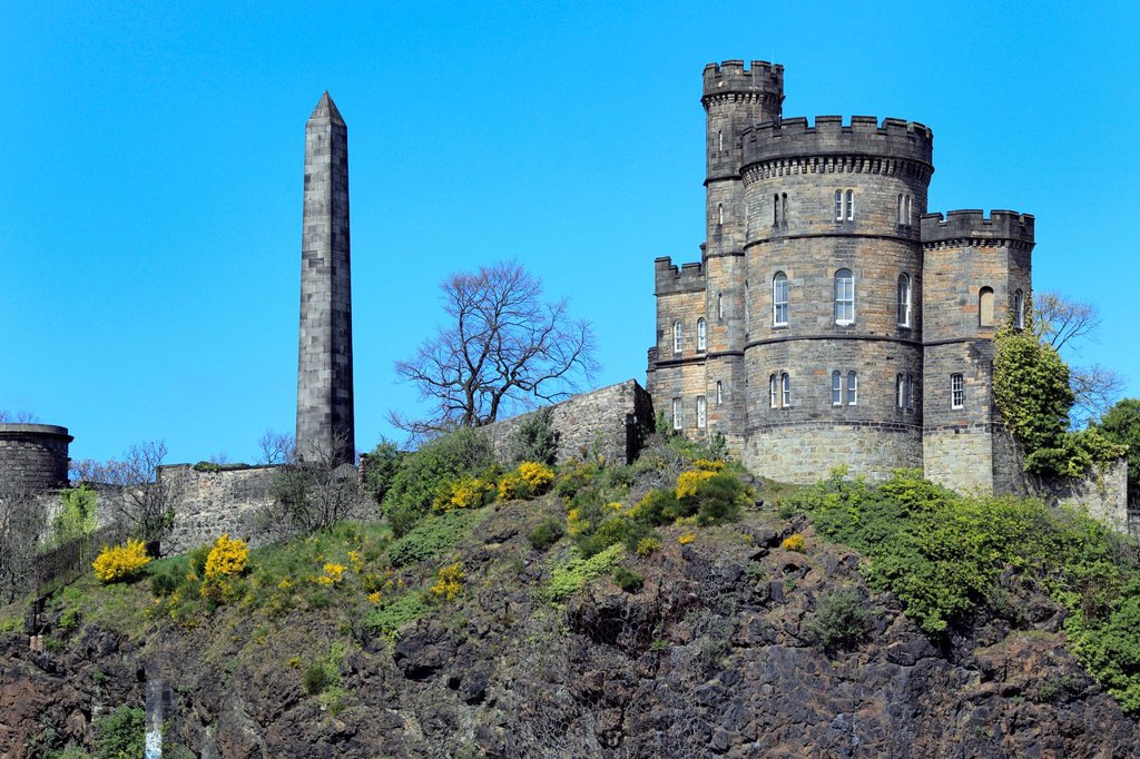 Stock Photo: 1566-1152688 St  Andrew´s House, Calton Hill, Edinburgh, Scotland, UK