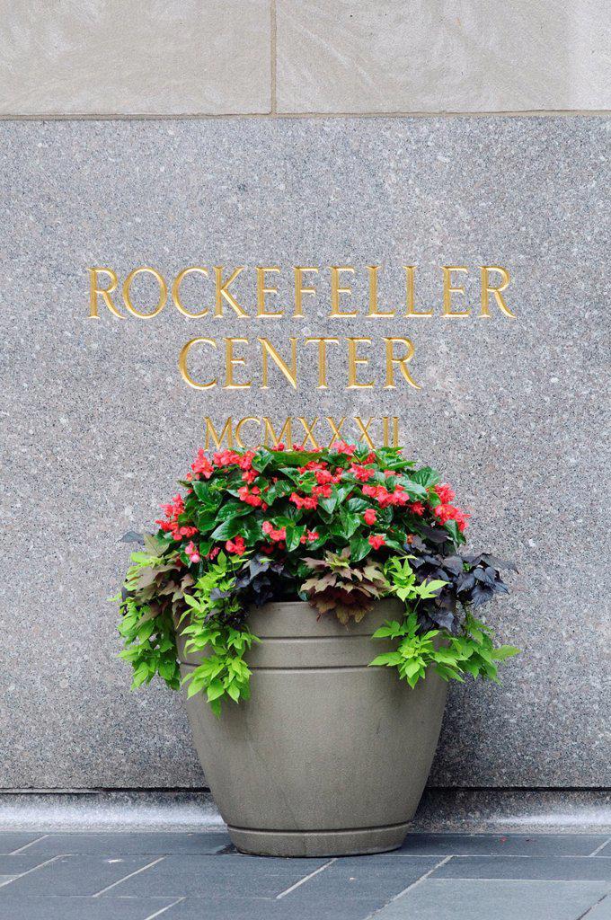 Stock Photo: 1566-1153989 United States, New York City, Manhattan, Midtown, Rockefeller Center