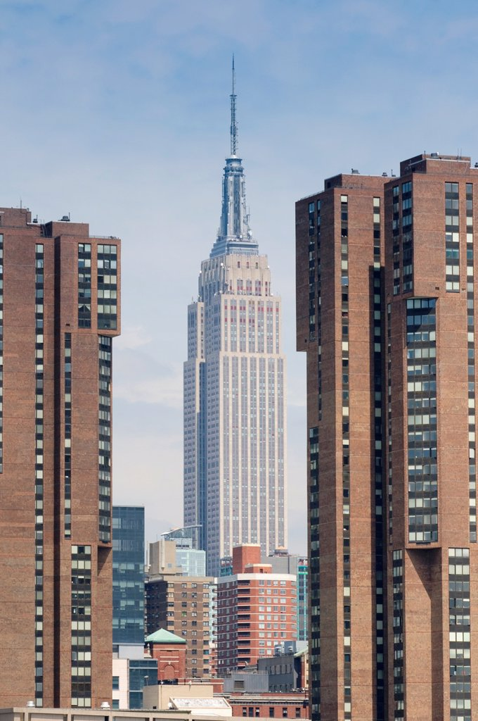 Stock Photo: 1566-1154002 United States, New York City, Manhattan, Empire State Building