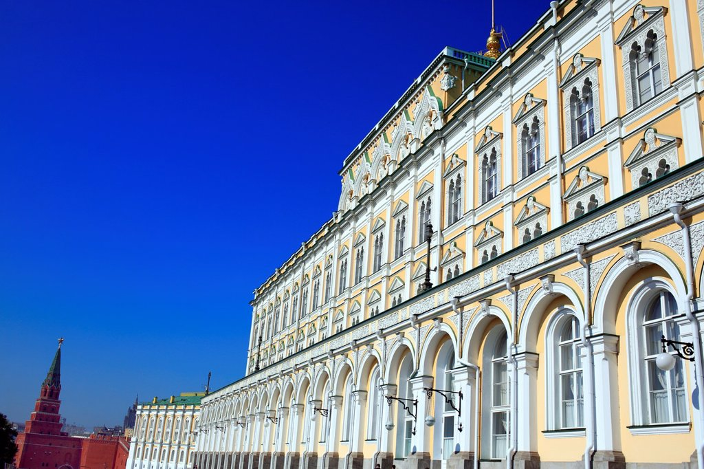 Stock Photo: 1566-1155351 Grand Kremlin Palace 1849, Moscow Kremlin, Moscow, Russia