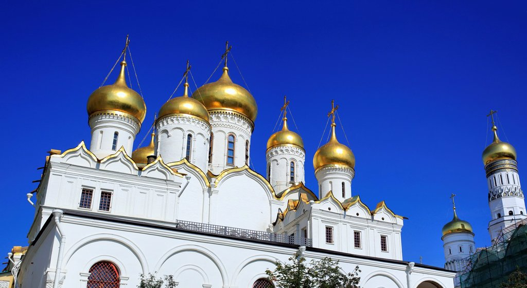 Stock Photo: 1566-1155353 Cathedral of the Annunciation 1489, Moscow Kremlin, Moscow, Russia