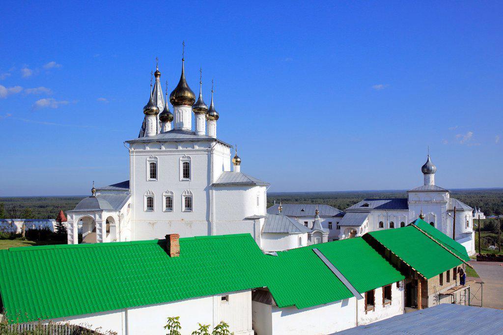 Stock Photo: 1566-1155481 Holy Trinity cathedral 1681, St  Nicholas monastery, Gorokhovets, Vladimir region, Russia