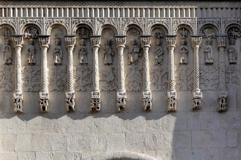 Stock Photo: 1566-1155493 Cathedral of Saint Demetrius 1191, Vladimir, Russia