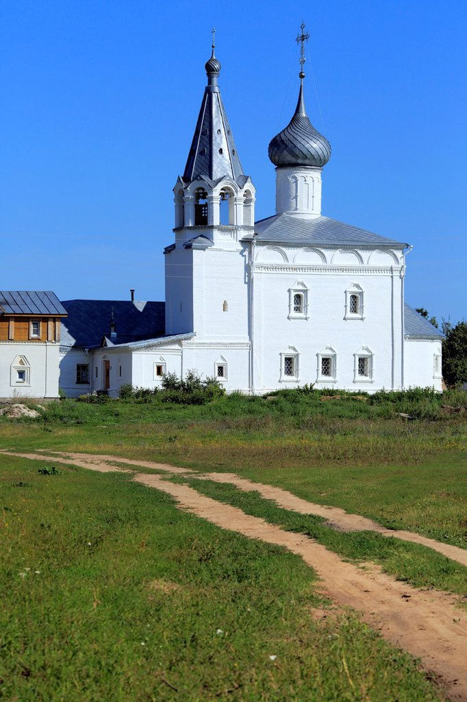 Stock Photo: 1566-1156076 Church in Znamensky monastery 1670, Gorokhovets, Vladimir region, Russia