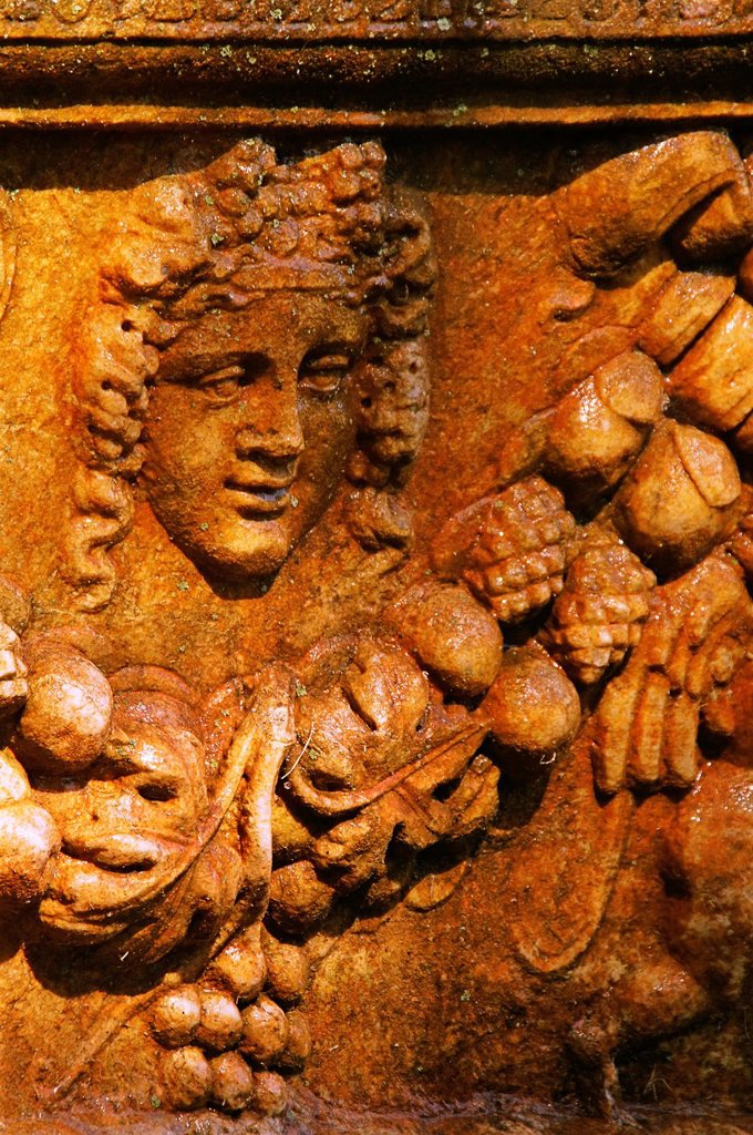Stock Photo: 1566-1156537 Turkey- detail of a sarcophagus  Aphrodisias Greek: fds, Aphrodisiás was a small city in Caria, on the southwest coast of Asia Minor  Its site is located near the modern village of Geyre, Turkey, about 230 km 140 mi south-east of Izmir and about 100 km 62. Turkey- detail of a sarcophagus  Aphrodisias Greek: fds, Aphrodisiás was a small city in Caria, on the southwest coast of Asia Minor  Its site is located near the modern village of Geyre, Turkey, about 230 km 140 mi south-east of Izmir and abo