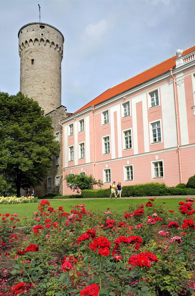 Stock Photo: 1566-1157540 Toompea castle, Tallinn,Estonia