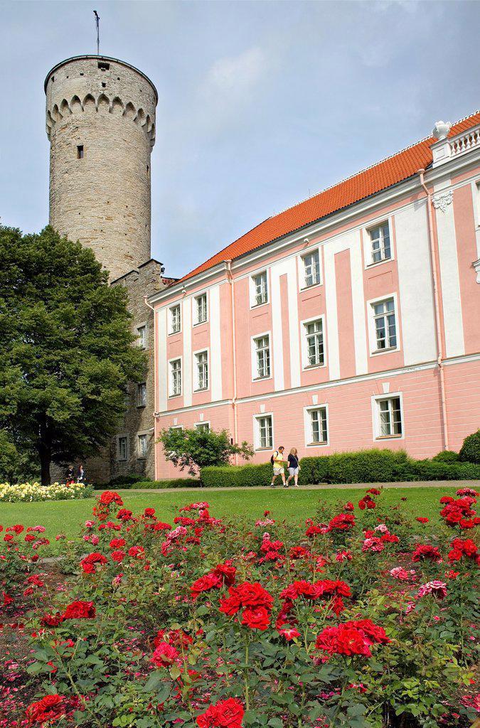Toompea castle, Tallinn,Estonia : Stock Photo