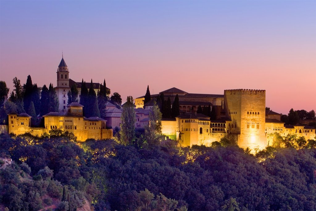 Stock Photo: 1566-1157705 Alhambra,Granada Andalusia, Spain