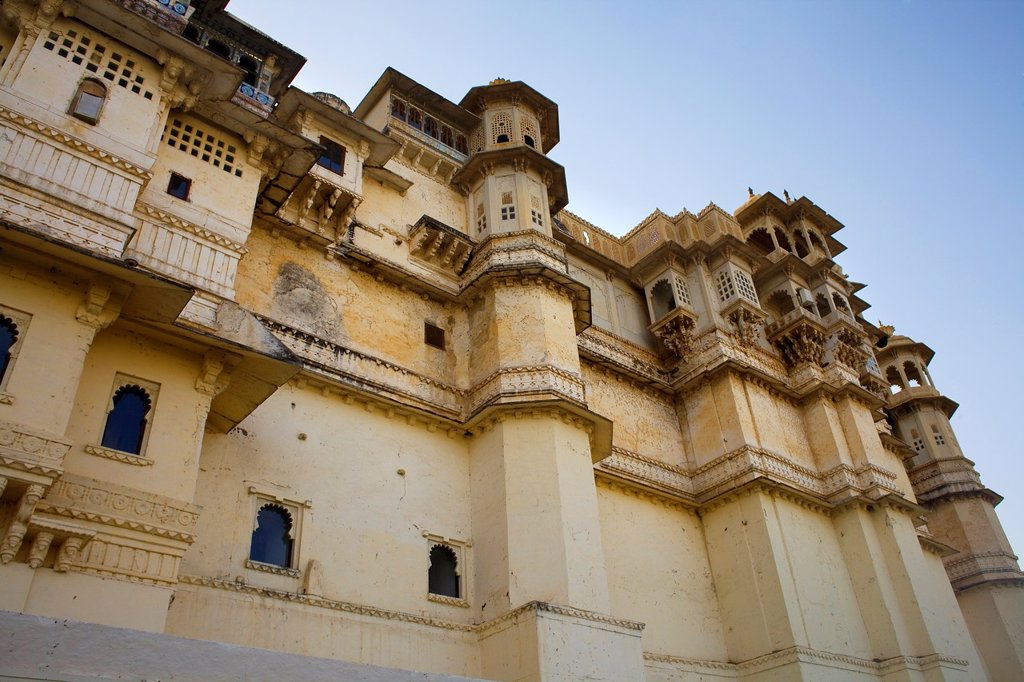 Stock Photo: 1566-1157832 City Palace,Udaipur, Rajasthan, india