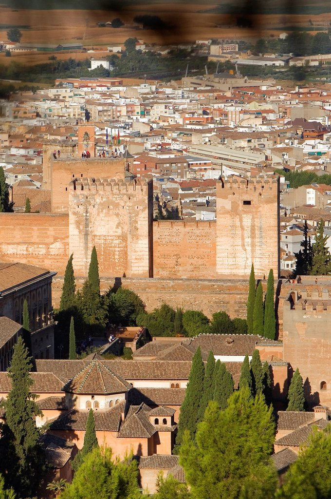 Alhambra,Granada, Andalusia, Spain : Stock Photo
