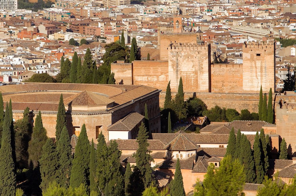 Stock Photo: 1566-1157921 Alhambra,Granada, Andalusia, Spain