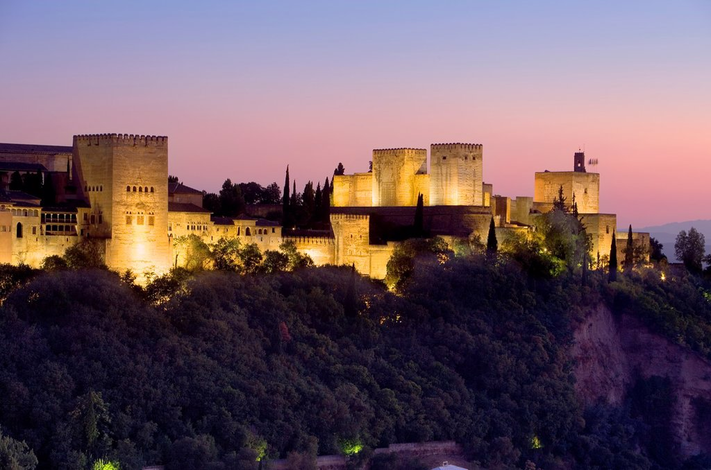 Stock Photo: 1566-1157923 Alhambra,Granada Andalusia, Spain