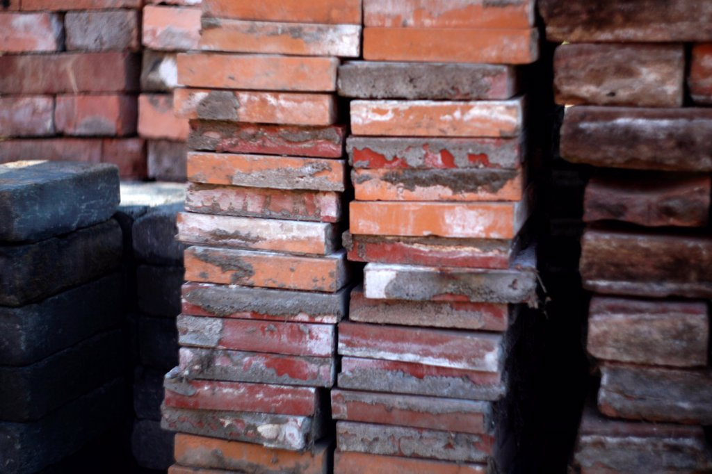 Stock Photo: 1566-1160599 Stable of bricks