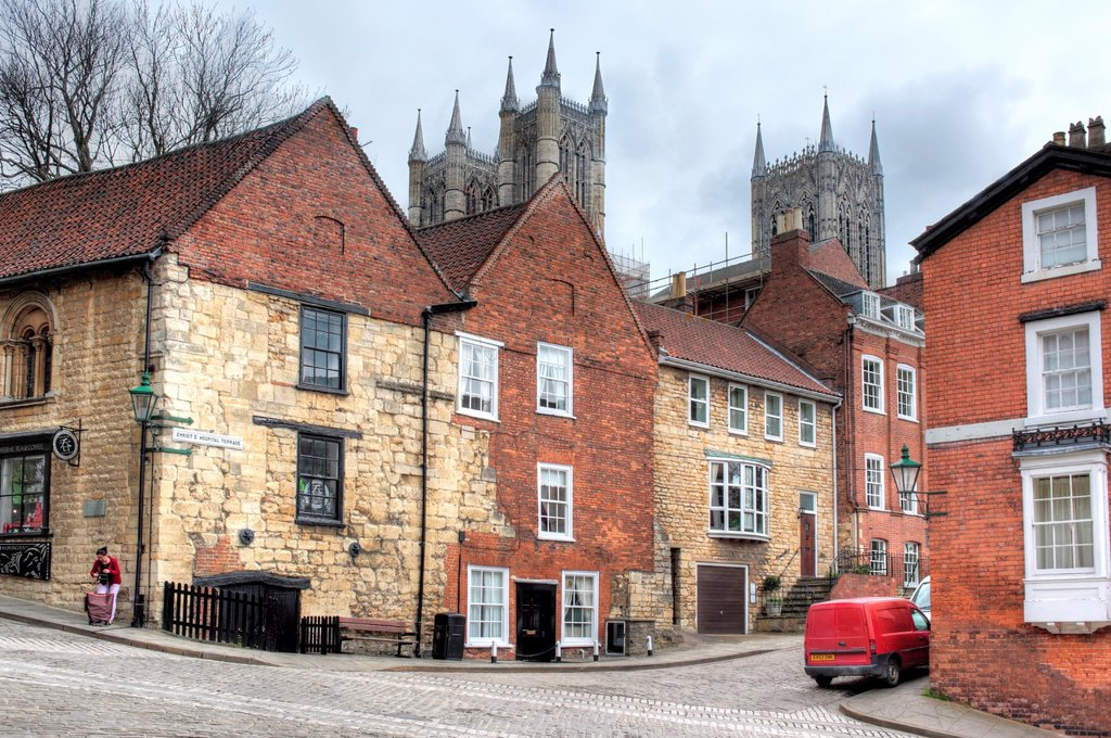 Stock Photo: 1566-1162389 Lincoln, Lincolnshire, England, UK