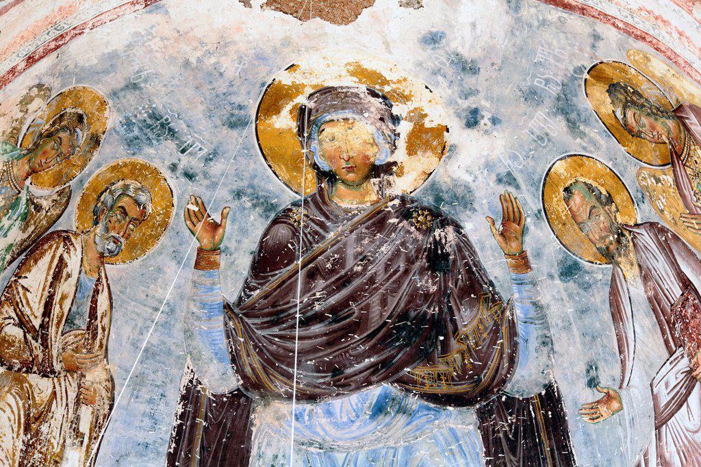 Tsalenjikha Cathedral Church of the Transfiguration of Savior, Samegrelo-Zemo Svaneti, Georgia : Stock Photo