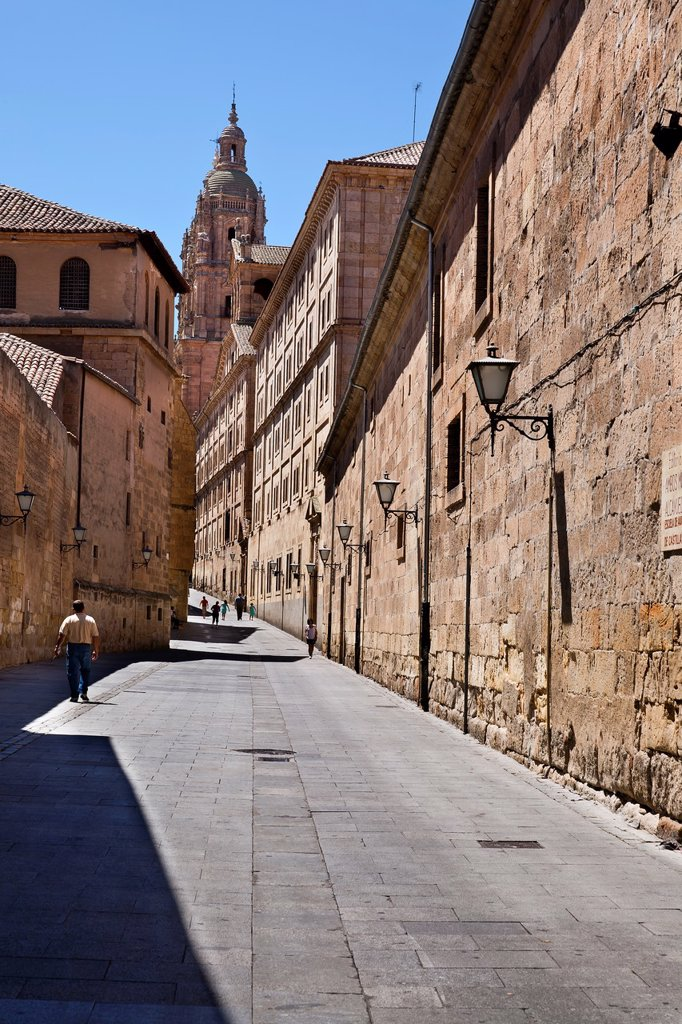Stock Photo: 1566-1163475 Small treet at Salamanca  Castilla León  Spain