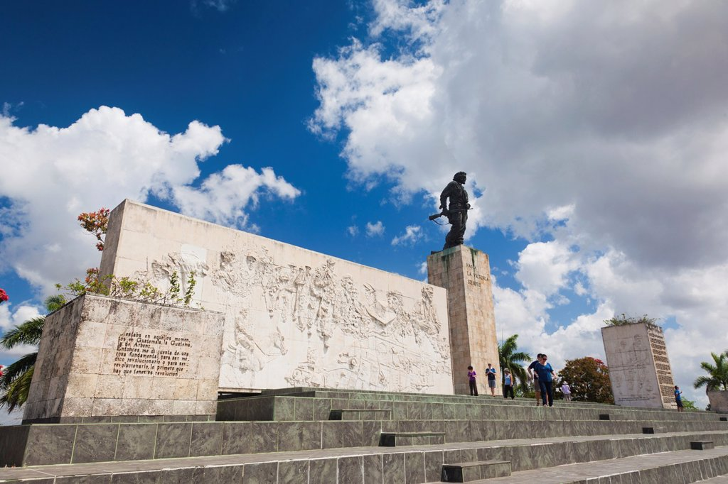 Stock Photo: 1566-1165052 Cuba, Santa Clara Province, Santa Clara, Monumento Ernesto Che Guevara, monument and mausoleum to Cuban revolutionary
