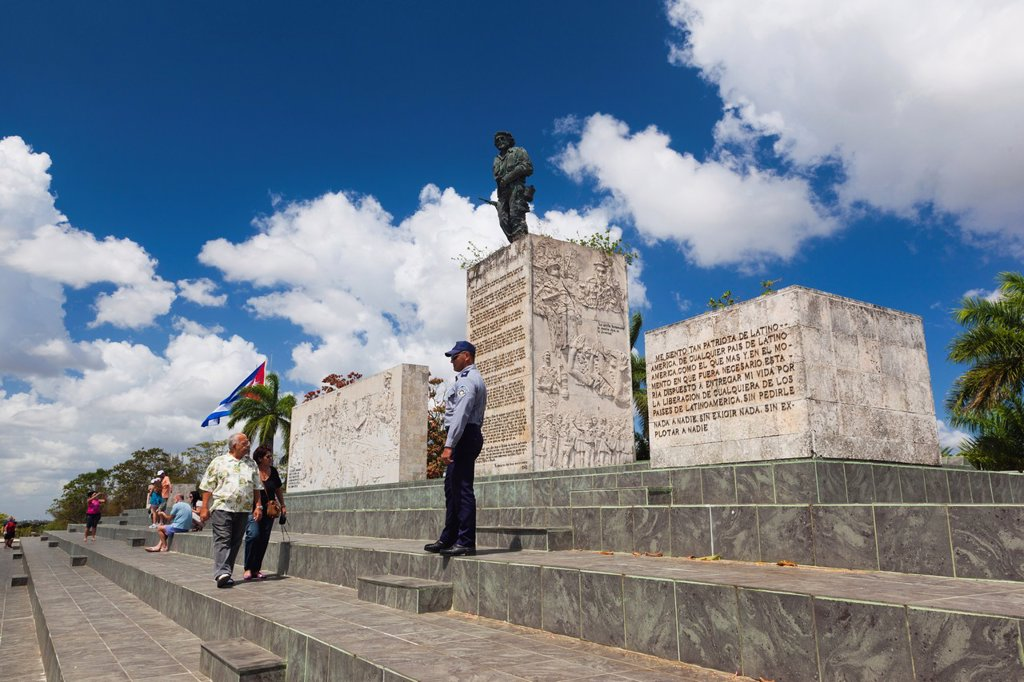 Stock Photo: 1566-1165054 Cuba, Santa Clara Province, Santa Clara, Monumento Ernesto Che Guevara, monument and mausoleum to Cuban revolutionary