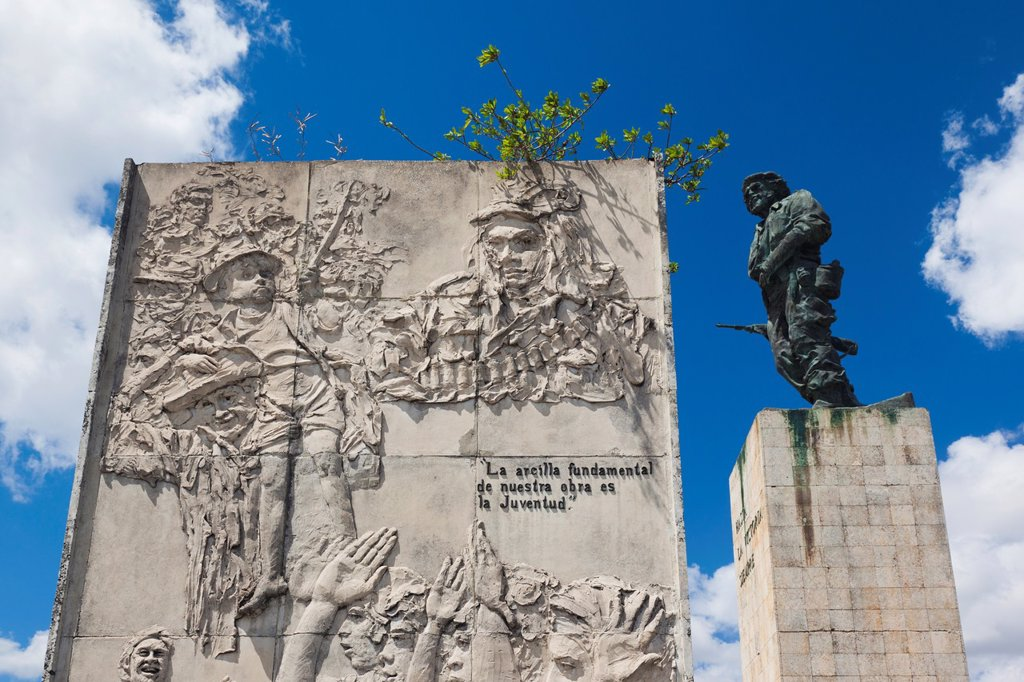 Stock Photo: 1566-1165055 Cuba, Santa Clara Province, Santa Clara, Monumento Ernesto Che Guevara, monument and mausoleum to Cuban revolutionary