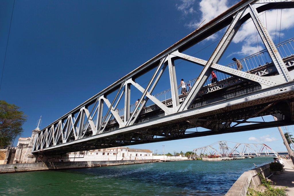 Stock Photo: 1566-1165335 Cuba, Matanzas Province, Matanzas, Puente Calixto Garcia Bridge