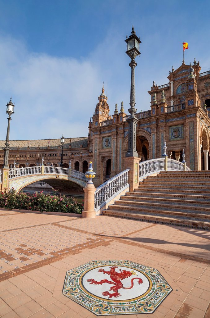 Stock Photo: 1566-1166527 sevilla,andalucia,spain plaza españa