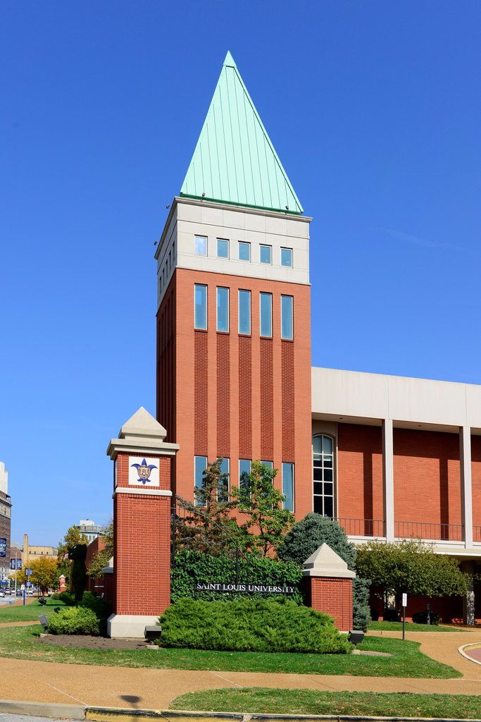 Stock Photo: 1566-1169985 Saint Louis University St  Louis MO Campus