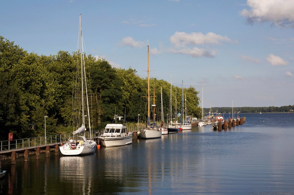 Habour Kiel-Holtenau, Germany, Baltic Sea, Fjord of Kiel : Stock Photo