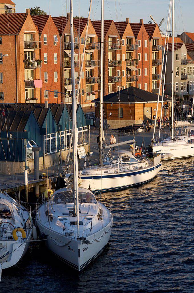 Stock Photo: 1566-1170204 Habor of Sonderborg, Denmark, Baltic Sea