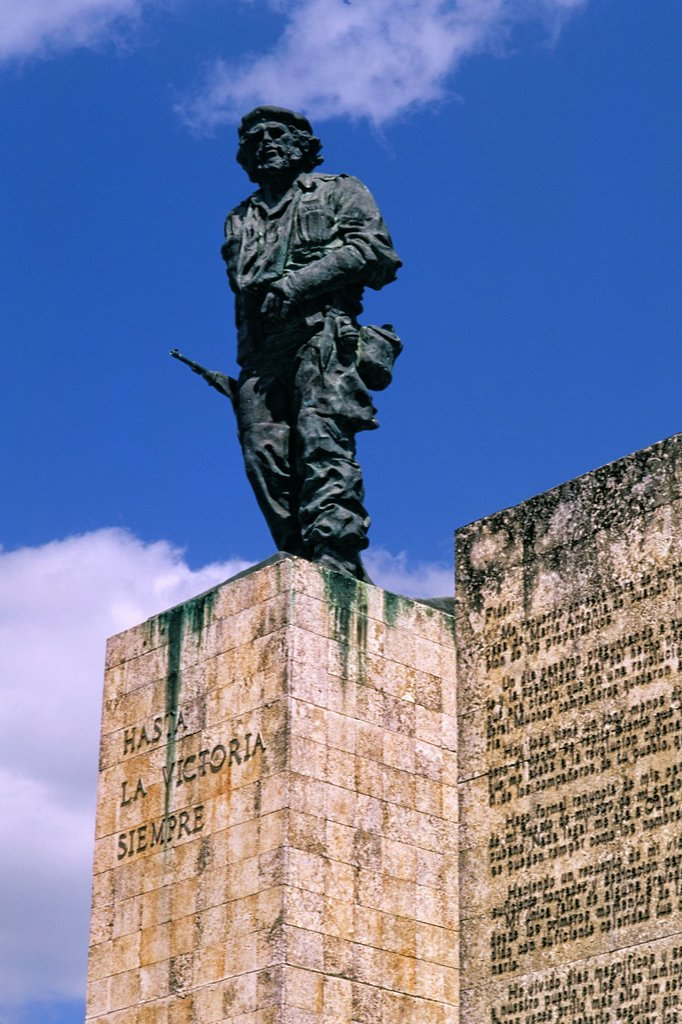 Stock Photo: 1566-1171466 Hero Memorial ´El Che´ Guevara Memorial Statue Santa Clara Cuba