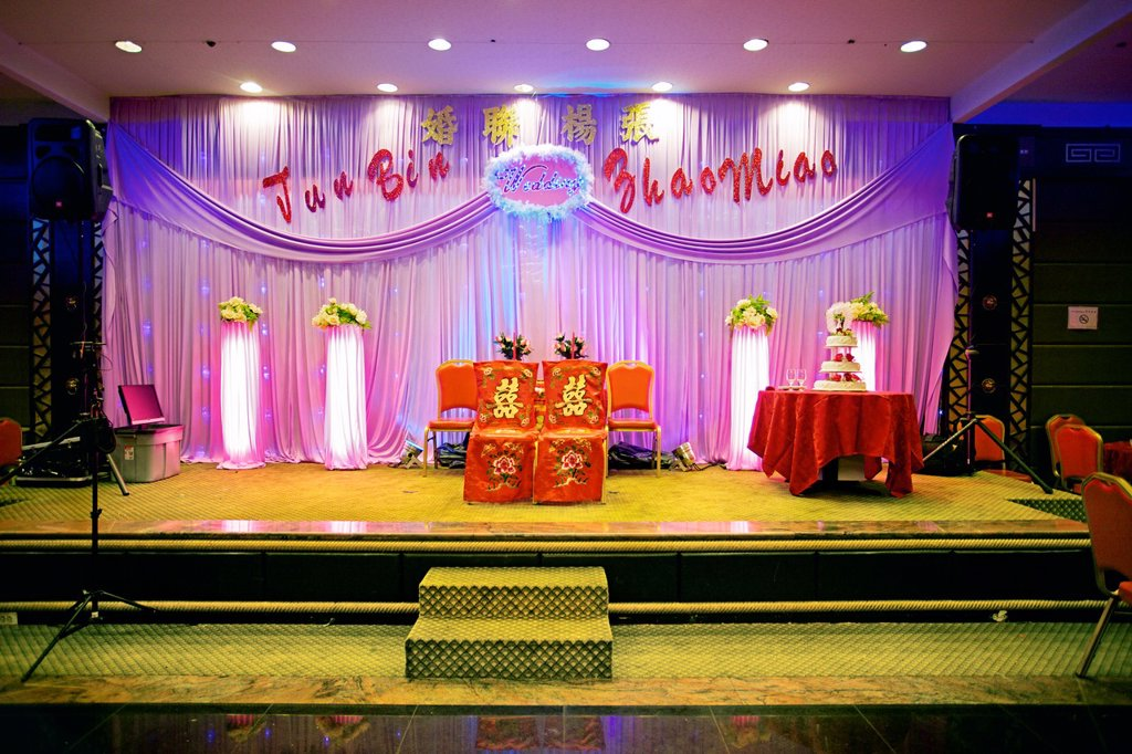 Stock Photo: 1566-1172155 Wedding, Chinatown, Manhattan, New York City  USA.