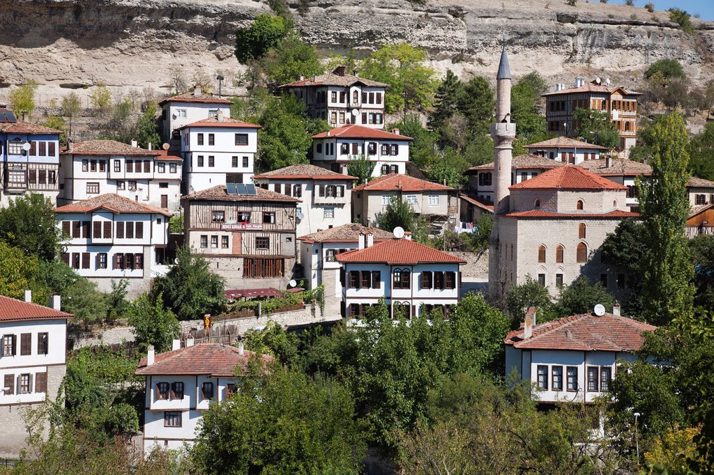 Stock Photo: 1566-1172896 asia, turkey, central anatolia, ancient town of safranbolu