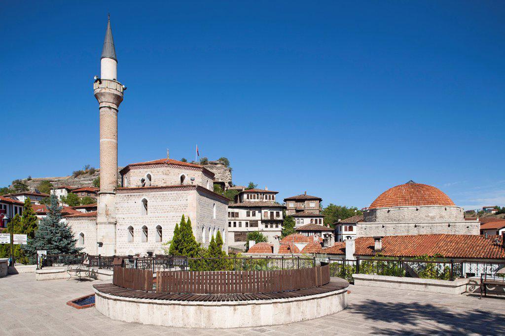 Stock Photo: 1566-1172911 asia, turkey, central anatolia, ancient town of safranbolu, kazdaglioglu camii