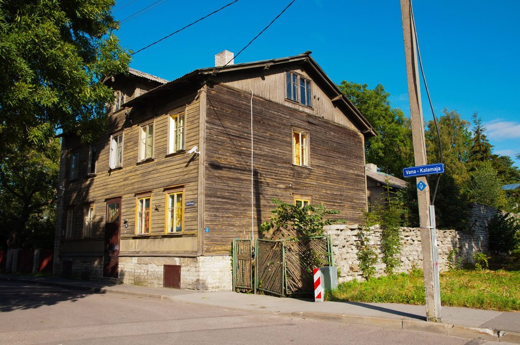 Stock Photo: 1566-1173225 Vana-Kalamaja street Kalamaja district Tallinn Estonia Europe