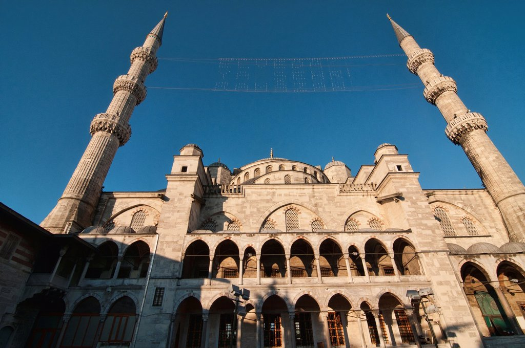 The Blue Mosque Sultanahmet Mosque, symbol of Istanbul, Turkey : Stock Photo