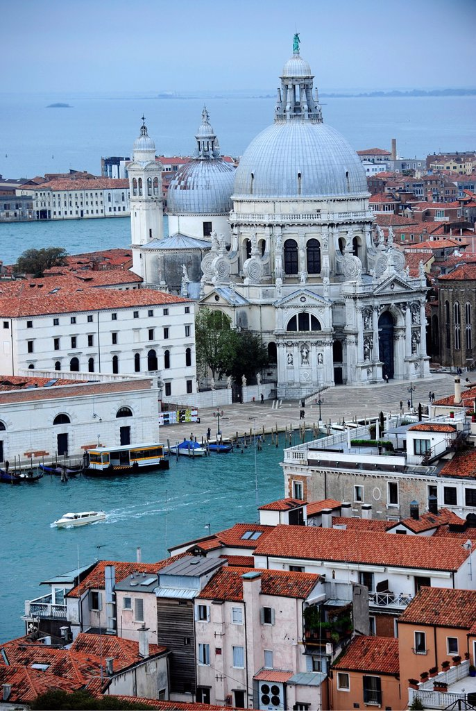Stock Photo: 1566-1178028 Church Santa Maria della Salute in Venice,Italy,Europe