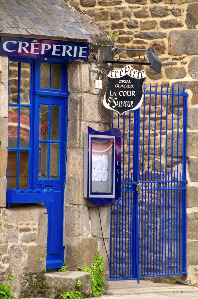 Stock Photo: 1566-1178434 Pancake place, Old town, Dinan, Brittany, Cotes d´Armor, France