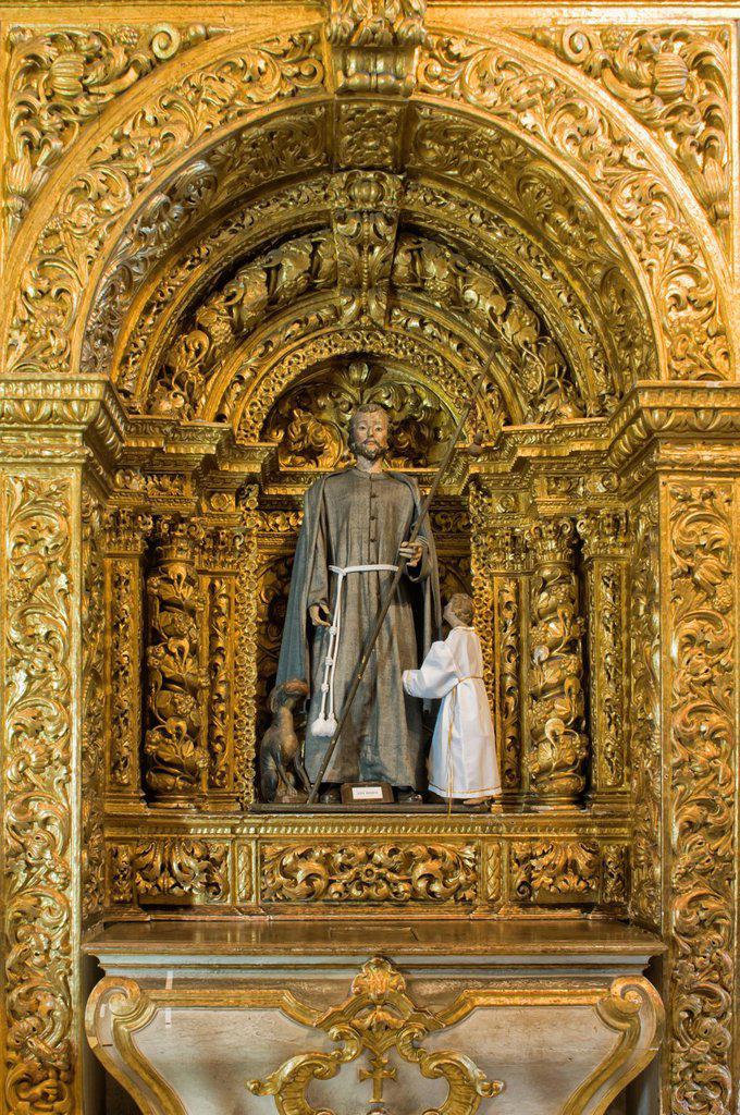 Stock Photo: 1566-1178524 Convento e Igreja de Santo António, Convent and Church of Santo António, Sao Roque, Capela Dourada, Golden Chapel, Pernambuco state, Brazil