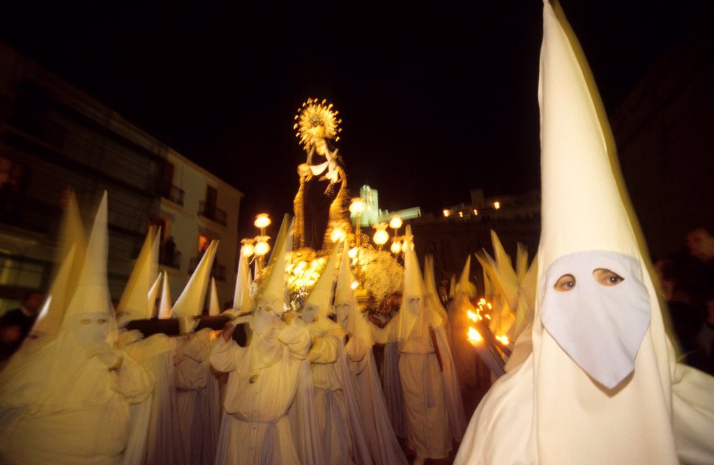 Procesion good Friday  Ibiza, Balearic Islands  Spain : Stock Photo