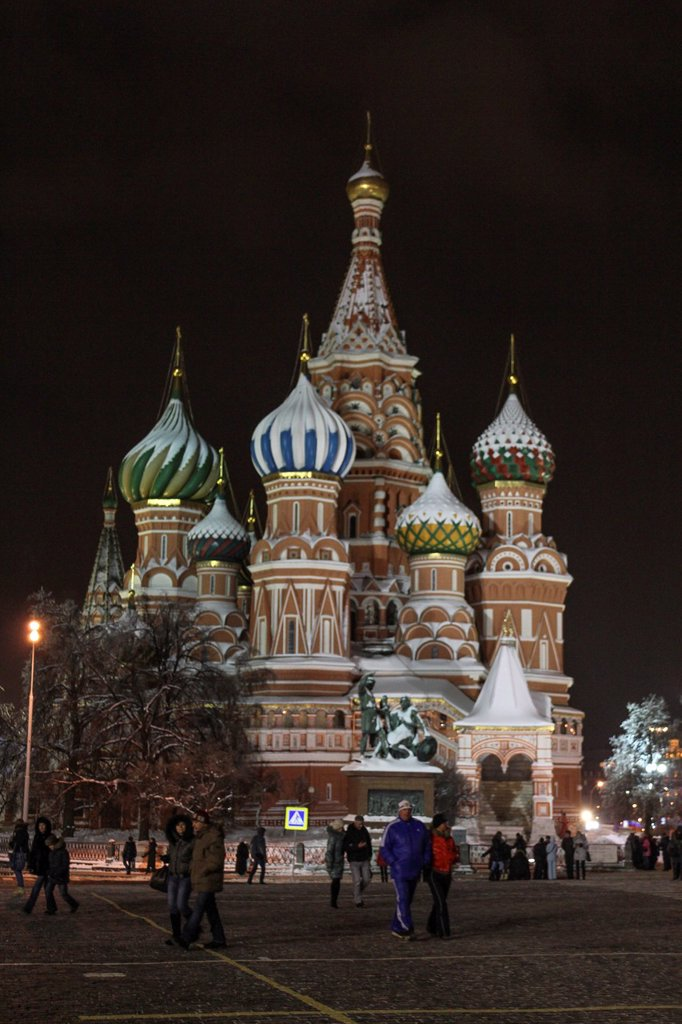 Stock Photo: 1566-1179058 Saint Basil´s Cathedral, Red Square, Moscow, Russia