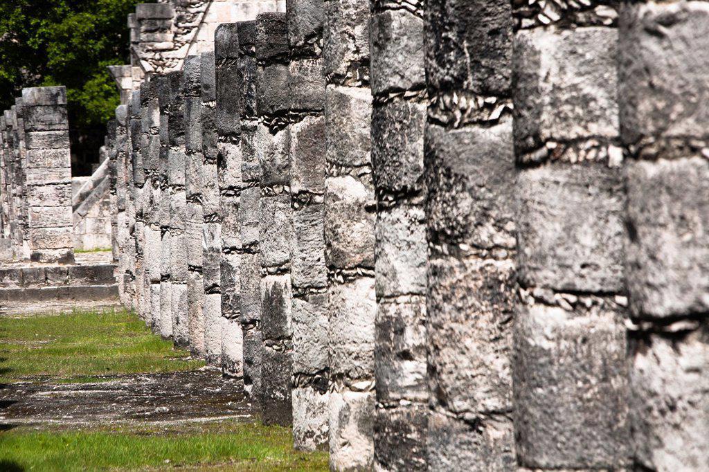 Stock Photo: 1566-1181918 Archeological site Chichén Itzá, Yucatan Peninsula, Mexico
