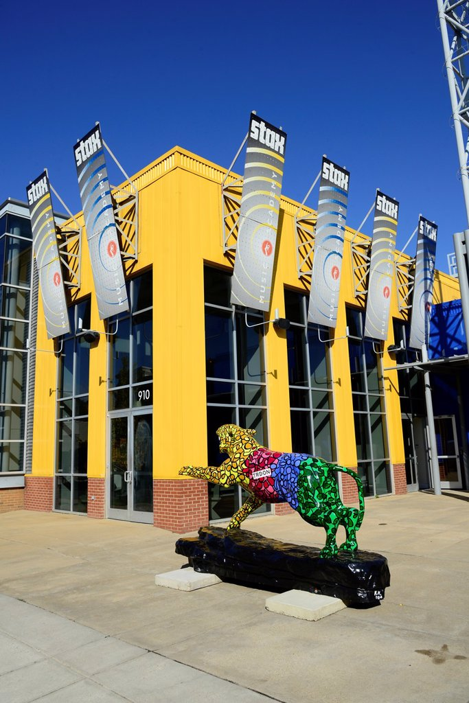 Stax Museum Soul Music Memphis Tennessee TN : Stock Photo