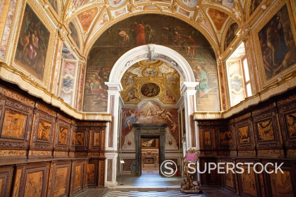 Stock Photo: 1566-1186635 San Martino church in Naples, Italy