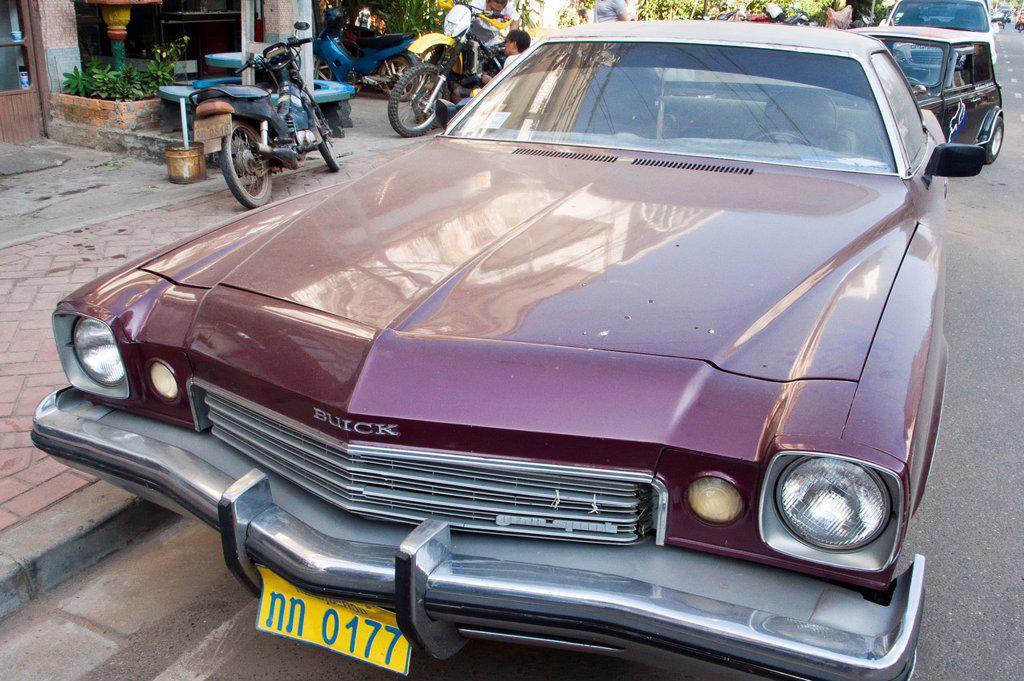 Stock Photo: 1566-1187319 Buick Century Gran Sport Vientiane Laos PDR